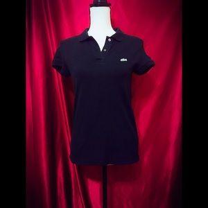 Lacoste Short Sleeve Polo Euro Size 38